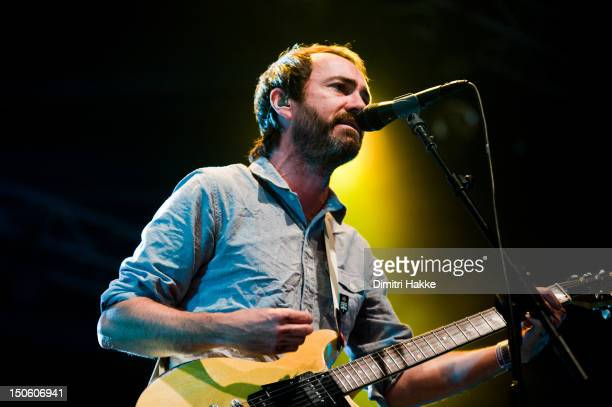 James Mercer of The Shins performs on stage during Lowlands music festival on August 19 2012 in Biddinghuizen Netherlands