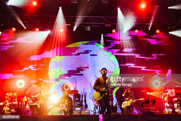 James Mercer of The Shins performs on the Mountain stage during day 4 at Green Man Festival at Brecon Beacons on August 20 2017 in Brecon Wales