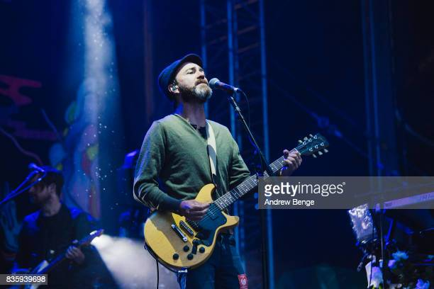 James Mercer of The Shins performs on the Mountain stage during day 4 at Green Man Festival at Brecon Beacons on August 20, 2017 in Brecon, Wales.
