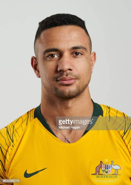 James Meredith of Australia poses during the Australia 'Socceroos' Kit Launch on March 24 2018 in Oslo Norway