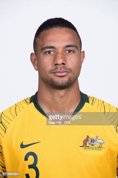 James Meredith of Australia poses for a portrait during the official FIFA World Cup 2018 portrait session at Trudovyne Rezeny on June 11 2018 in...