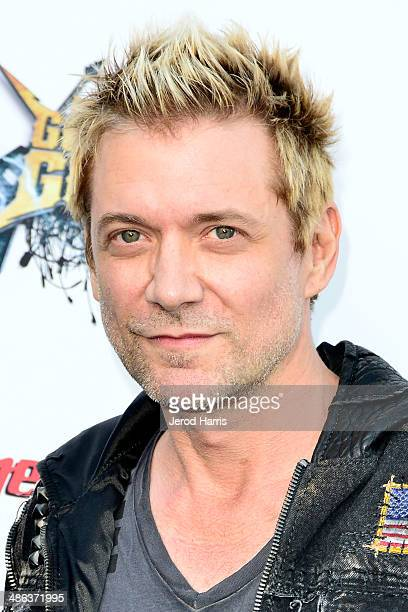 James Michael arrives at the 2014 Revolver Golden Gods Awards at Club Nokia on April 23 2014 in Los Angeles California