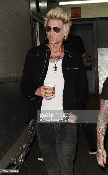James Michael is seen on May 25 2016 in New York City