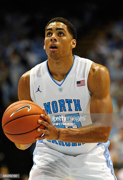 James Michael McAdoo of the North Carolina Tar Heels against the Oakland Golden Grizzlies during play at the Dean Smith Center on November 8 2013 in...
