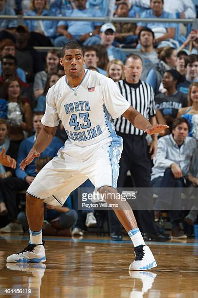 James Michael McAdoo of the North Carolina Tar Heels plays during a game against the Northern Kentucky Norse on December 27 2013 at the Dean E Smith...