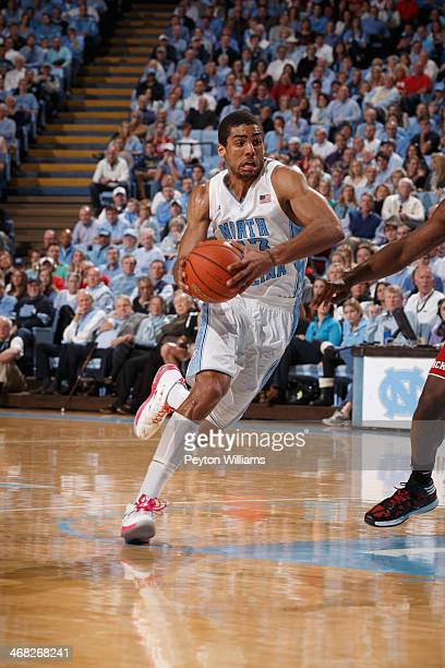 James Michael McAdoo of the North Carolina Tar Heels plays the North Carolina State Wolfpack on February 01 2014 at the Dean E Smith Center in Chapel...