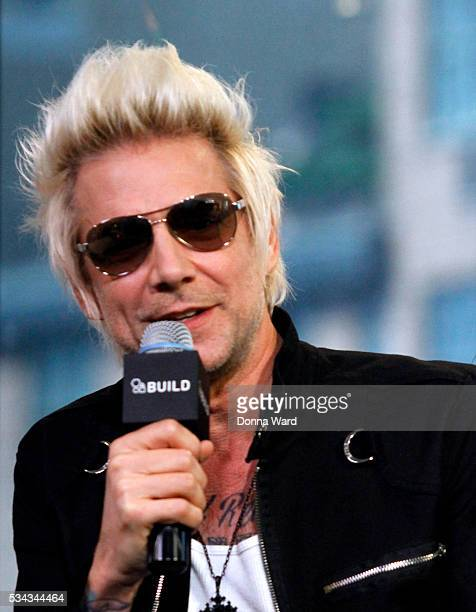 James Michael of SixxAM appears to promote Prayers or the Damned Vol 1 during AOL BUILD Seriesat AOL Studios In New York on May 25 2016 in New York...