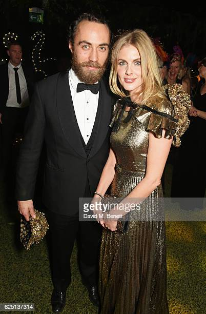 James Middleton and Donna Air attend The Animal Ball 2016 presented by Elephant Family at Victoria House on November 22, 2016 in London, England.
