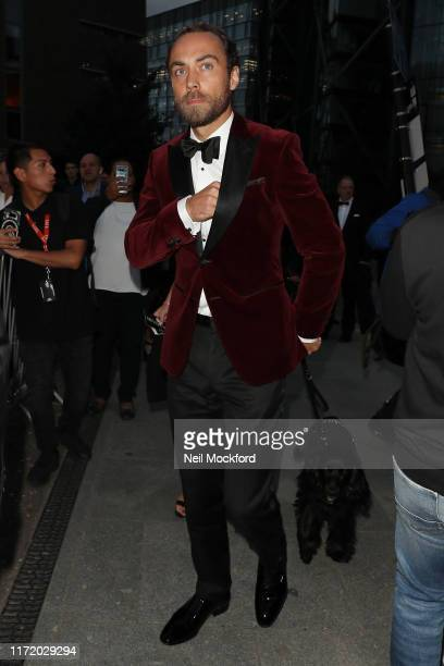 James Middleton arrives at the GQ Men of the Year Awards at the Tate Modern on September 03 2019 in London England