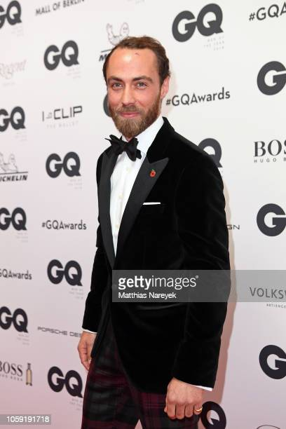 James Middleton arrives for the 20th GQ Men of the Year Award at Komische Oper on November 8, 2018 in Berlin, Germany.