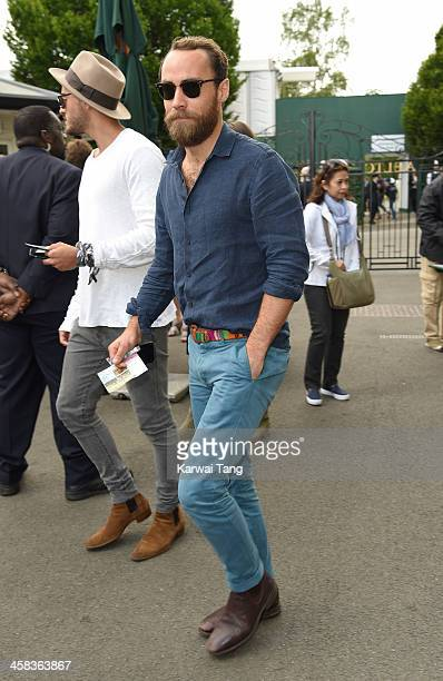 James Middleton attends day six of the Wimbledon Tennis Championships at Wimbledon on July 02, 2016 in London, England.