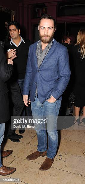 James Middleton attends the Steam And Rye launch party on November 19 2013 in London United Kingdom