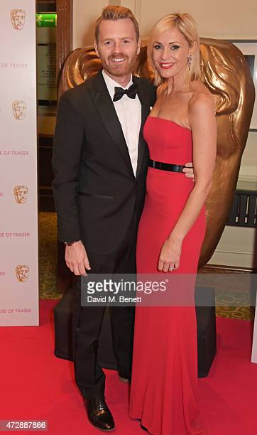 James Midgley and Jenni Falconer attend the After Party dinner for the House of Fraser British Academy Television Awards at The Grosvenor House Hotel...