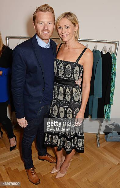 James Midgley and Jenni Falconer attend the launch of designer and entrepreneur Tabitha Webb's first retail store 'Tabitha Webb' on Elizabeth St...