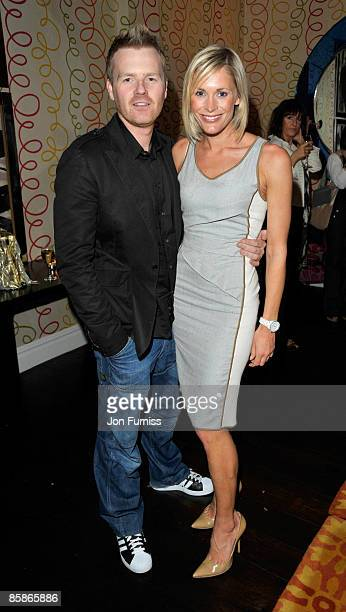 James Midgley and Jenny Falconer attend the VIP screening of 'I love You Man' at Soho Hotel on April 8 2009 in London England