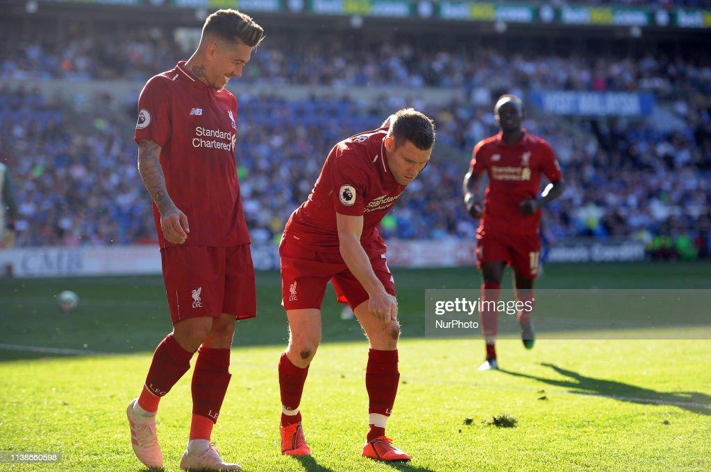 Cardiff City v Liverpool FC - Premier League : News Photo