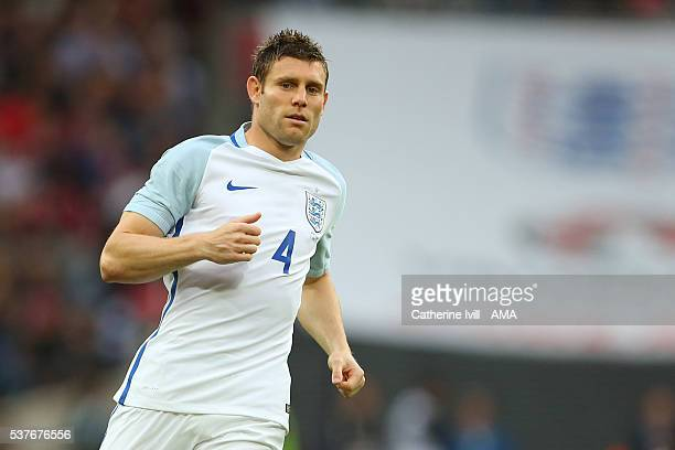 James Milner of England during the International Friendly match between England and Portugal at Wembley Stadium on June 2 2016 in London England