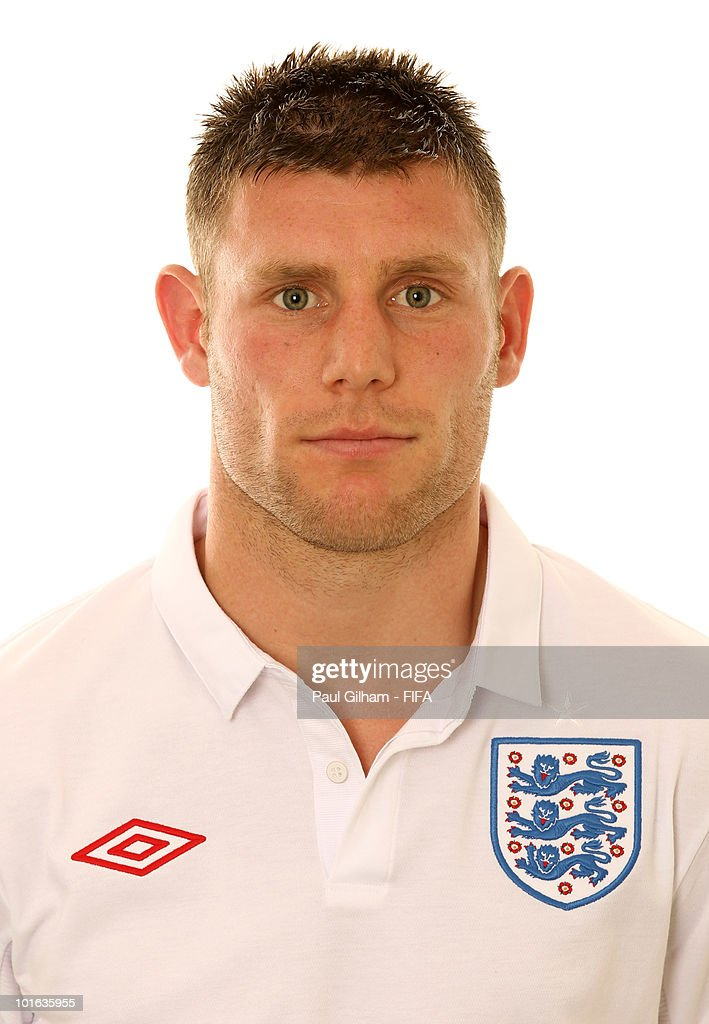 James Milner of England poses during the official FIFA World Cup 2010 portrait session on June 4, 2010 in Rustenburg, South Africa.