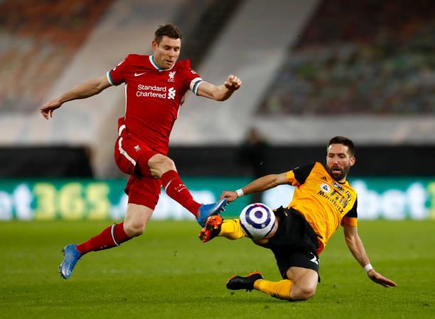 GBR: Wolverhampton Wanderers v Liverpool - Premier League