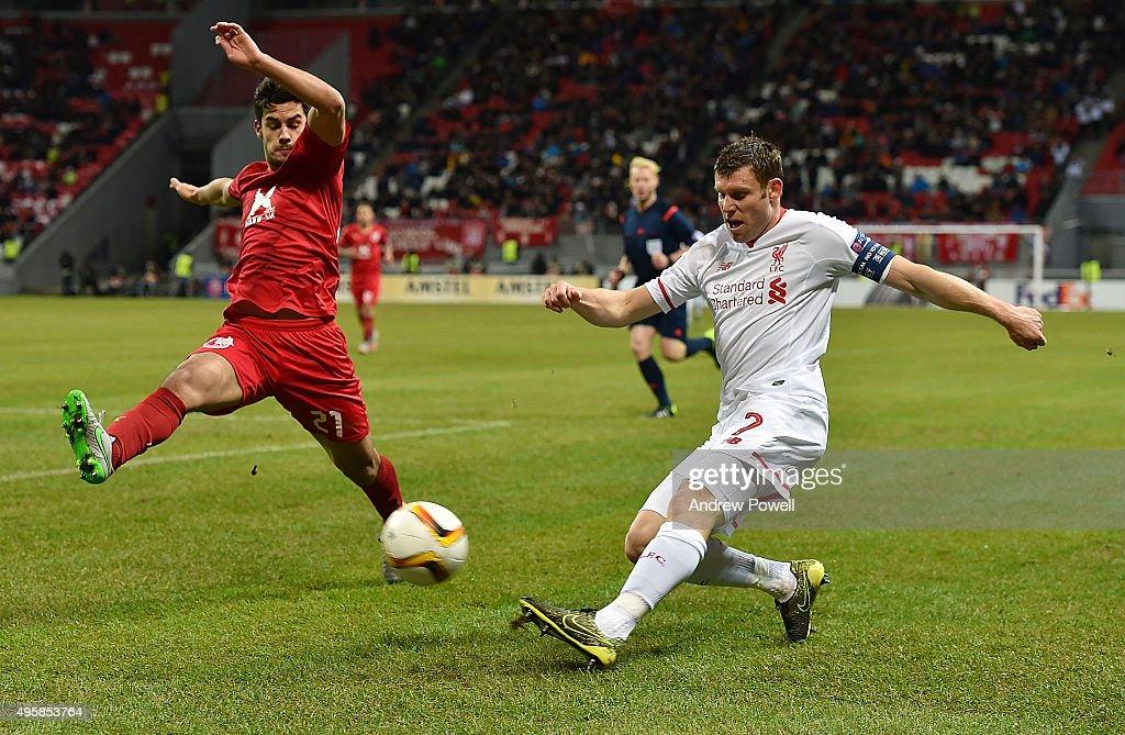 FC Rubin Kazan v Liverpool FC - UEFA Europa League : News Photo