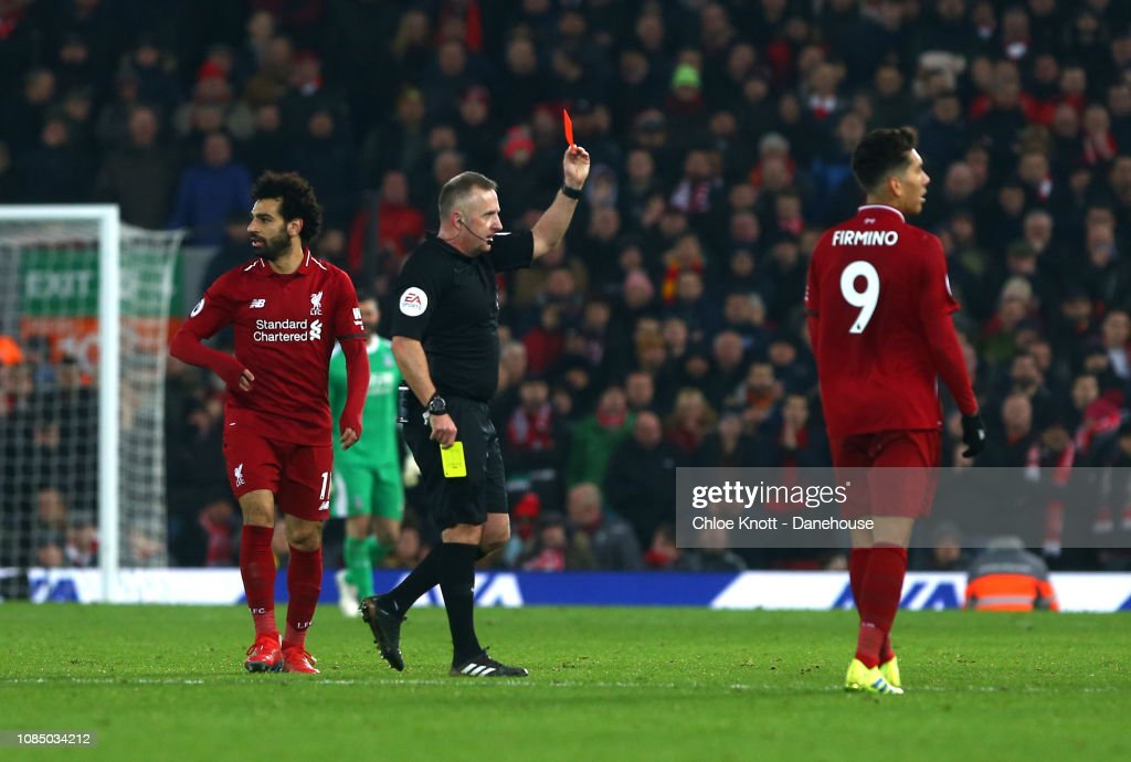Liverpool FC v Crystal Palace FC - Premier League : News Photo