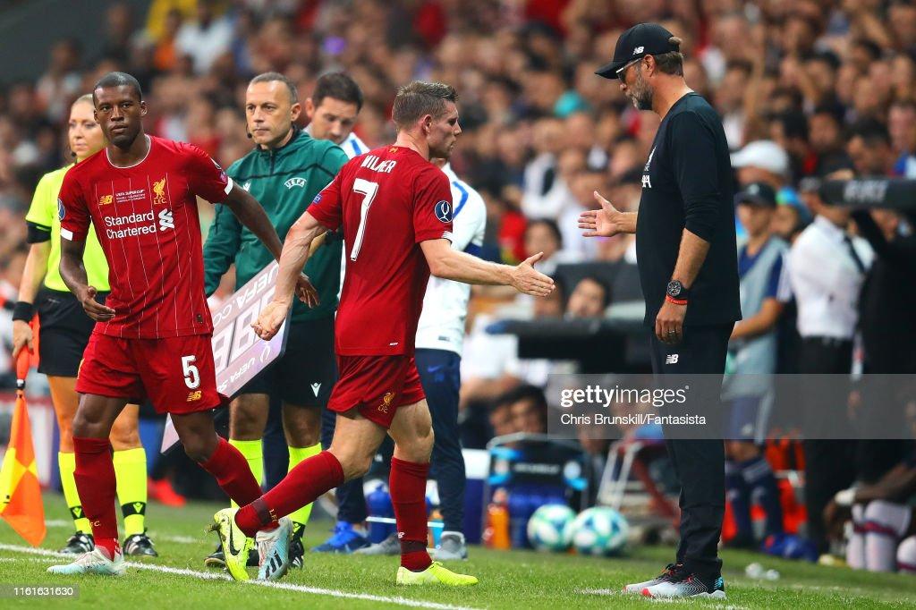 Liverpool v Chelsea: UEFA Super Cup : ニュース写真