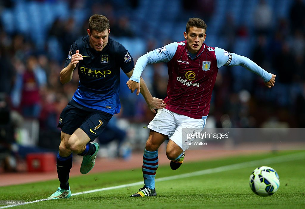 Aston Villa v Manchester City - Premier League : News Photo