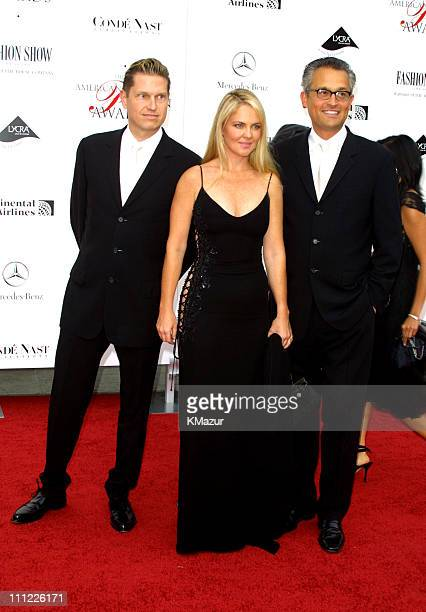 James Mischka Cornelia Guest and Mark Badgley during The 20th Annual CFDA American Fashion Awards at Avery Fisher Hall Lincoln Center in New York...