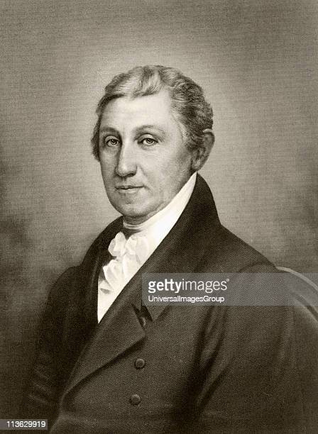 James Monroe 1758 to 1831 Fifth president of the United States of America
