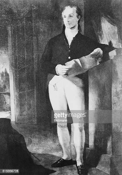 Fifth President of the United States Full length portrait by Thomas Sully