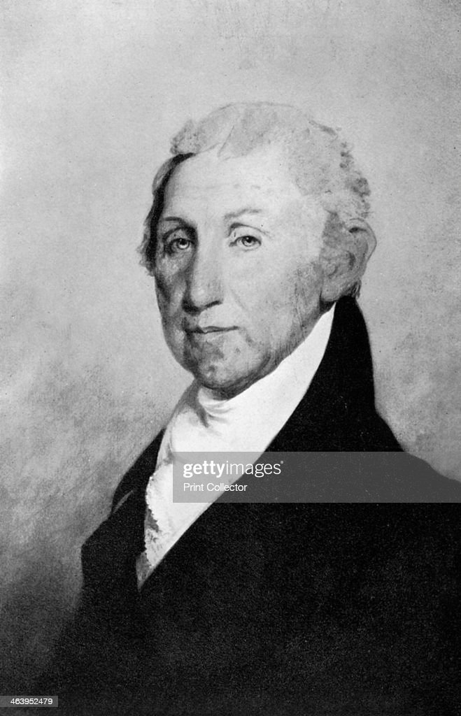 James Monroe, fifth President of the United States, (1933). : News Photo