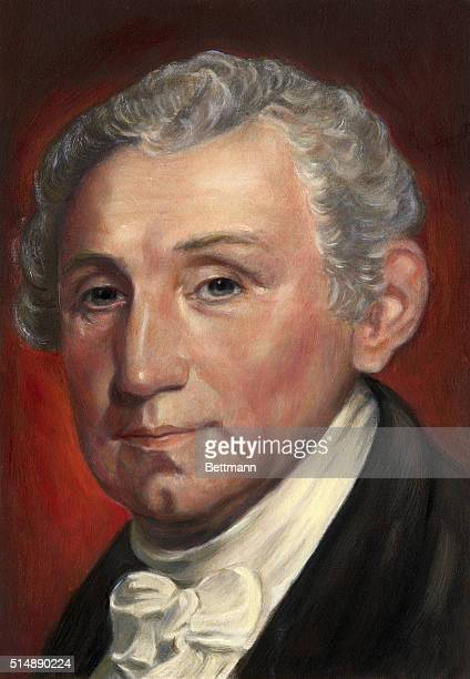 James Monroe fifth President of the US Head and shoulders portrait