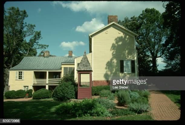 james monroe house in charlottesville - james monroe stock pictures, royalty-free photos & images