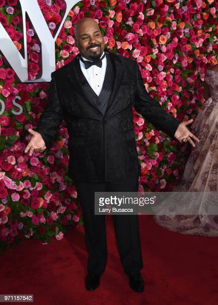 James Monroe Iglehart attends the 72nd Annual Tony Awards at Radio City Music Hall on June 10 2018 in New York City