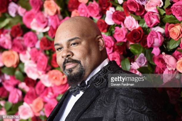 James Monroe Iglehart attends the 72nd Annual Tony Awards at Radio City Music Hall on June 10, 2018 in New York City.