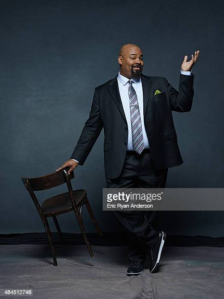 James Monroe Iglehart is photographed for The Hollywood Reporter on May 23 2014 in New York City