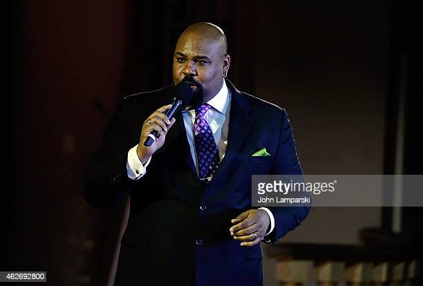 james Monroe Inglehart aperforms The Drama League's 31st Annual Msical Celebration Of Broadway at The Pierre Hotel on February 2 2015 in New York City