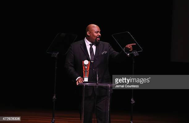 James Monroe Inglehart speaks on stage at the 30th Annual Lucille Lortel Awards at NYU Skirball Center on May 10 2015 in New York City