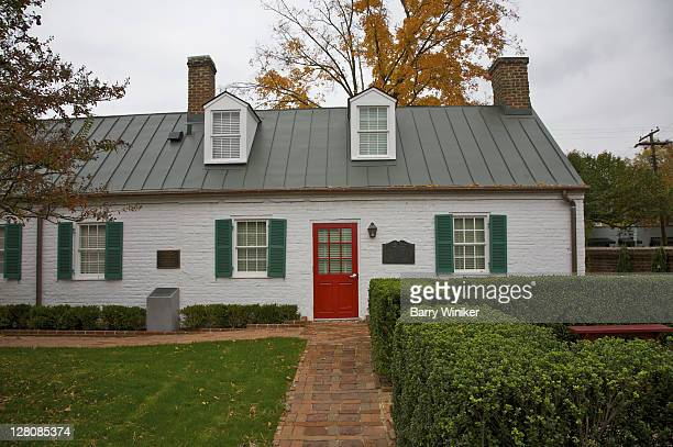 james monroe museum and memorial library, fredericksburg, va, u.s.a. - james monroe us president stock pictures, royalty-free photos & images
