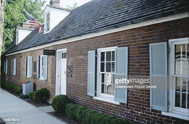 James Monroe's Law Office in Fredericksburg Virginia James Monroe who would be the fifth President of the United States used this structure as a law...