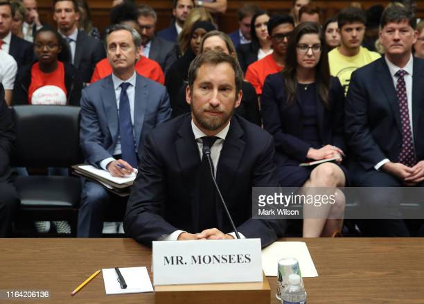 James Monsees cofounder and chief product officer at JUUL Labs Inc appears before the House Economic and Consumer Policy Subcommittee which is...