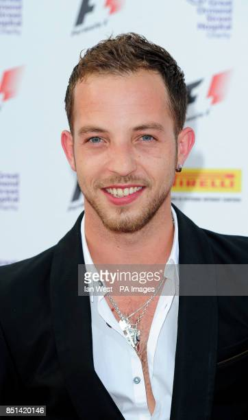 James Morrison arrives at the F1 Party in aid of Great Ormond Street Hospital Children's charity The party marks the official launch of the Formula 1...