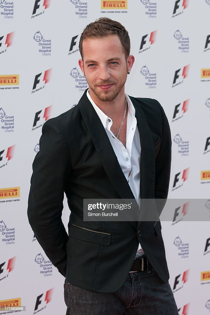 James Morrison attends The F1 Party at Old Billingsgate Market on June 26, 2013 in London, England.