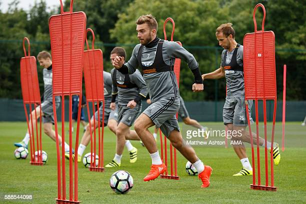 James Morrison of West Bromwich Albion during a training session at West Bromwich Albion Training Ground on August 11 2016 in Walsall England