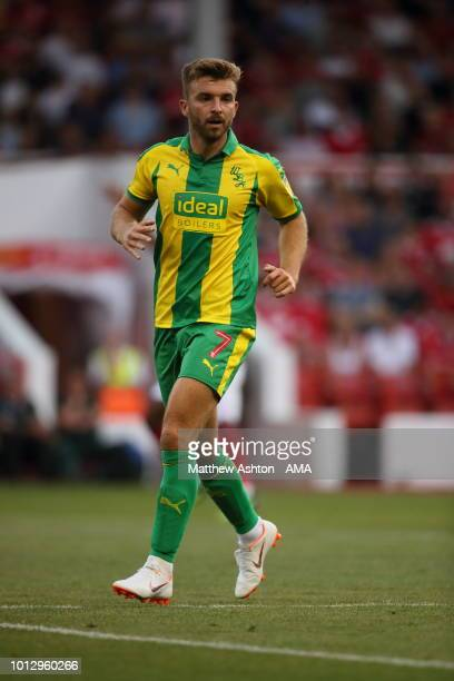 James Morrison of West Bromwich Albion during the Sky Bet Championship match between Nottingham Forest v West Bromwich Albion at City Ground on...