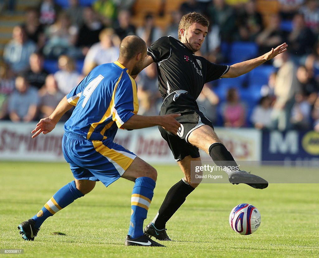 Shrewsbury v West Bromwich Albion - Pre Season Friendly : News Photo