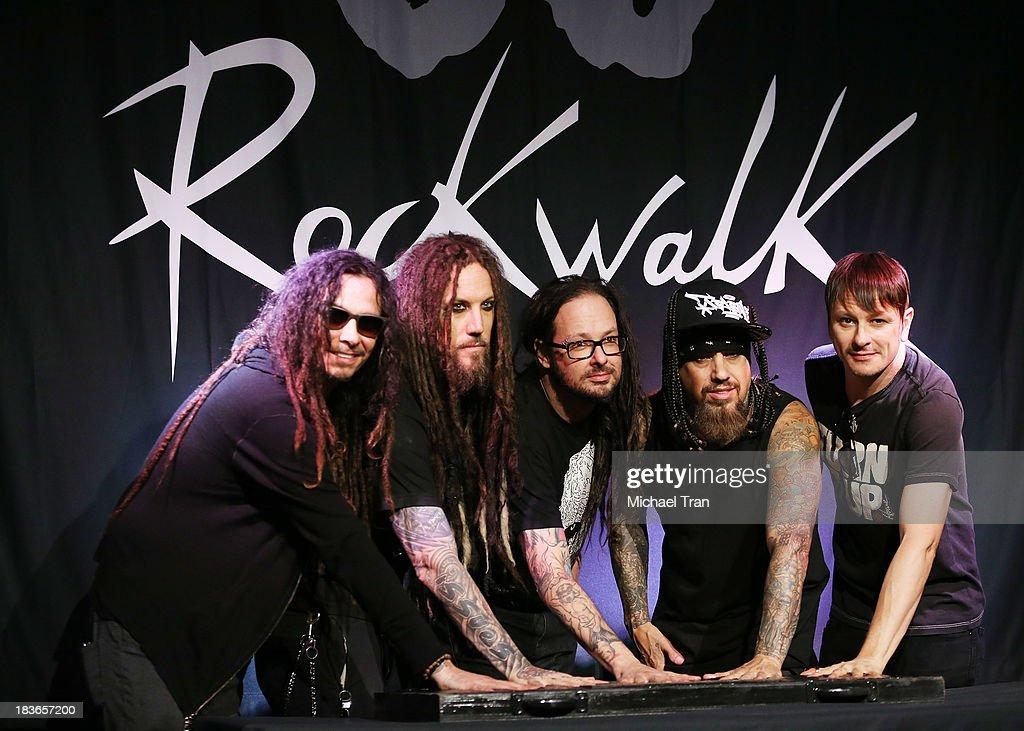 Korn Inducted Into Guitar Center's RockWalk