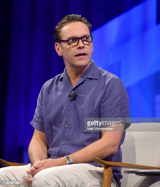 James Murdoch, founder and CEO of Lupa Systems speaks onstage during 'In Conversation' at Vanity Fair's 6th Annual New Establishment Summit at Wallis...