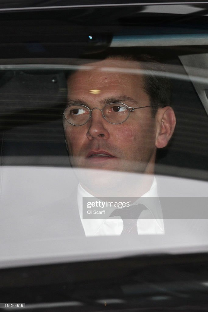 James Murdoch Faces Calls To Stand Down As Chairman Of BSkyB At Their AGM