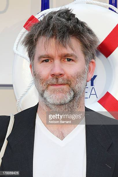 James Murphy attends the 2013 Governors Ball music festival official kick off party hosted by SKYY Vodka at Hornblower Infinity on June 6 2013 in New...